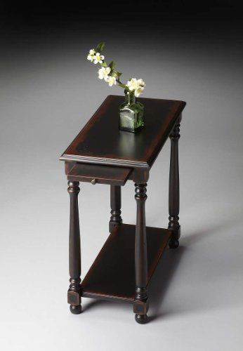 Butler Home Decor Furniture Chairside Table Finish Type Moderate Midnight  Rose 5017250 Butler Specialty Http: