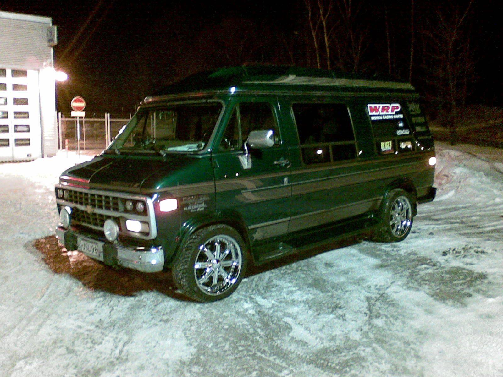 Van models picture of 1996 chevrolet chevy van