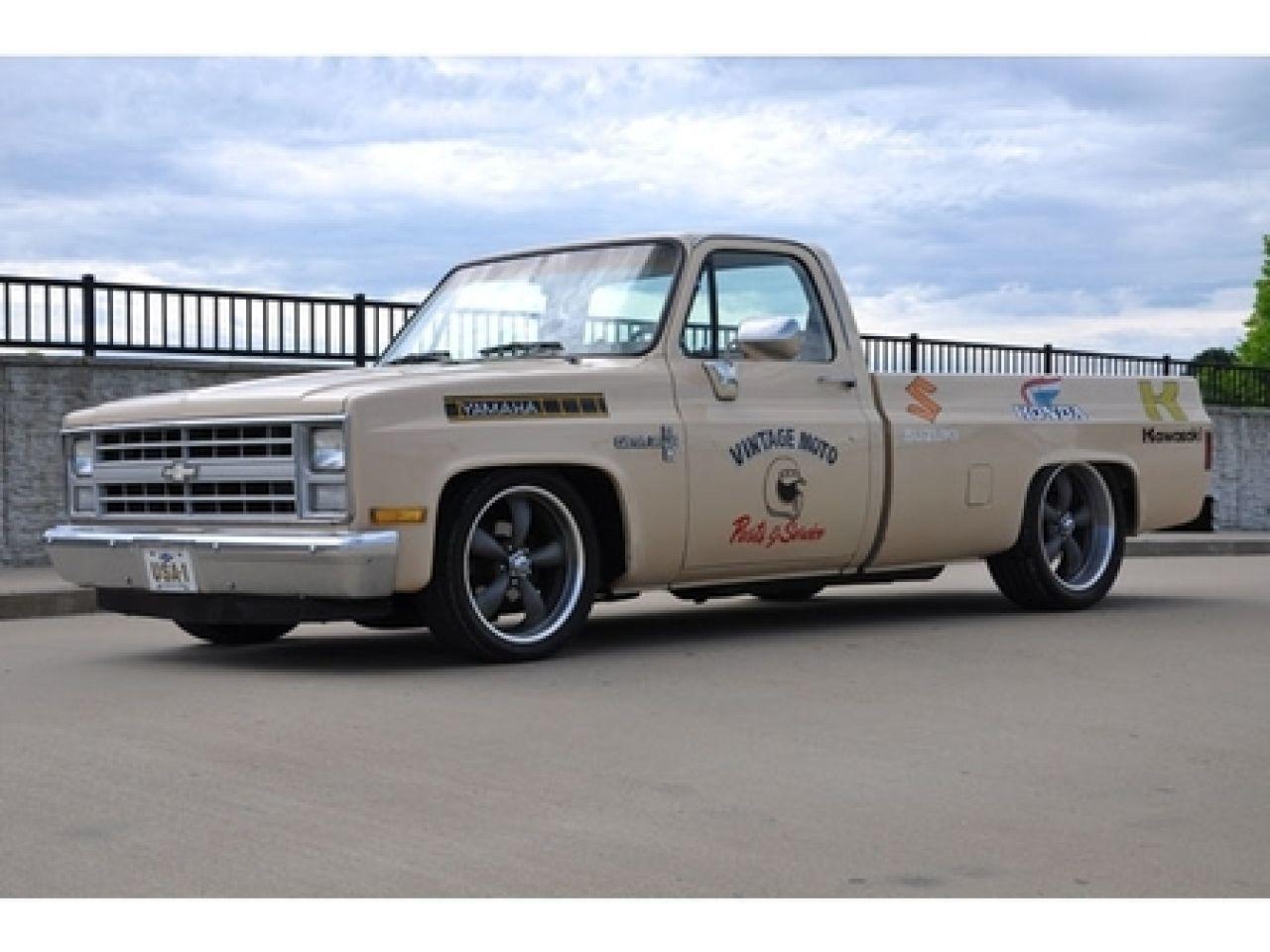Silverado chevy 1987 silverado : 1987 Chevrolet C10 Pickup Truck - Ebay Motors San Jose, CA for ...