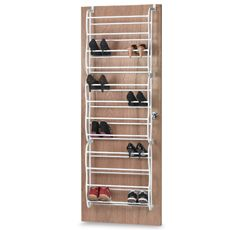 Bed Bath Beyond Shoe Storage.36 Pair Over The Door Shoe Rack Bed Bath Beyond This
