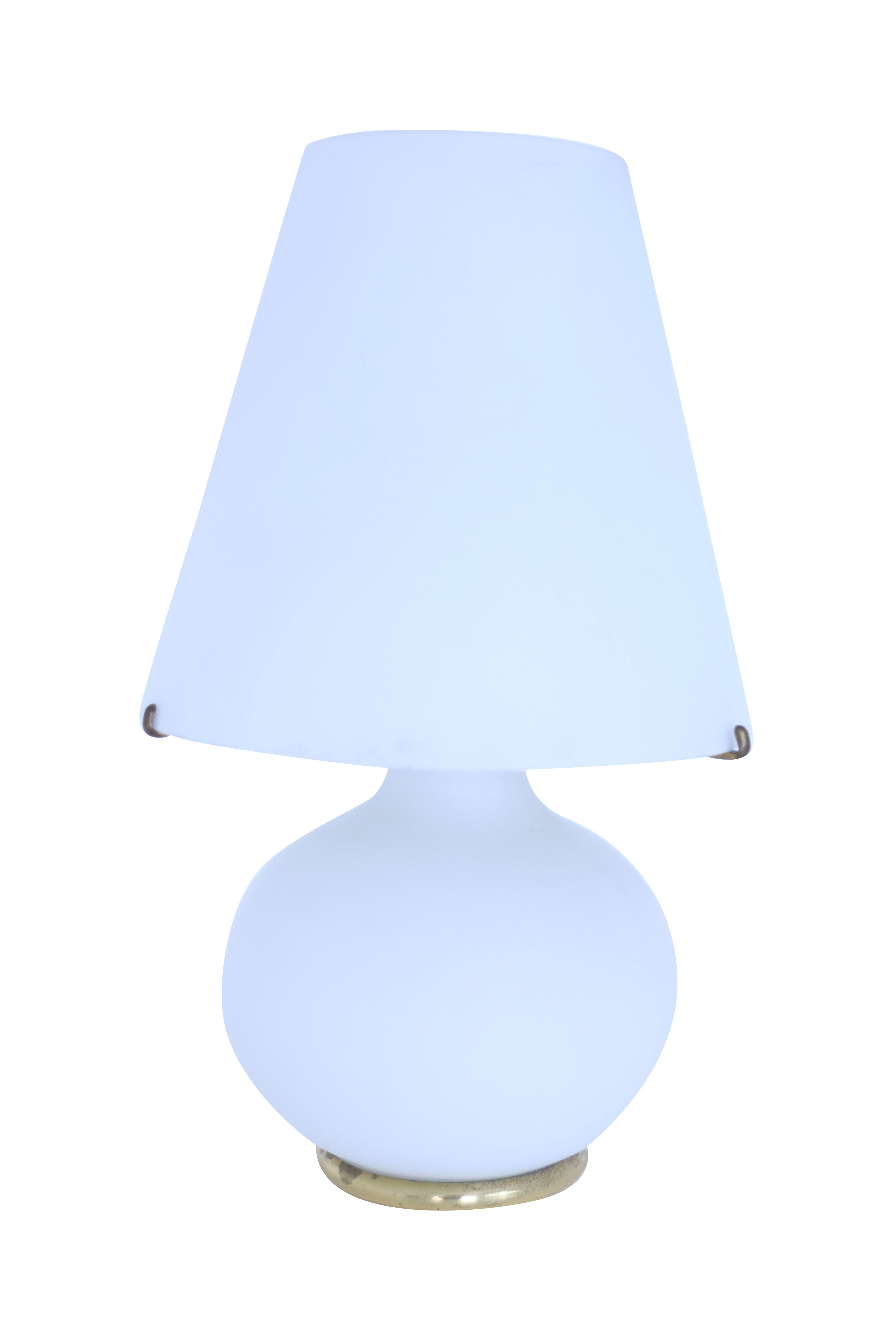 Satined Glass Table Lamp Table Lamp Glass Table Lamp Lamp
