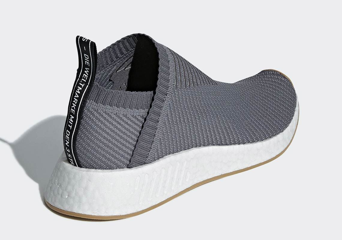 adidas NMD CS2 Grey + Gum D96742