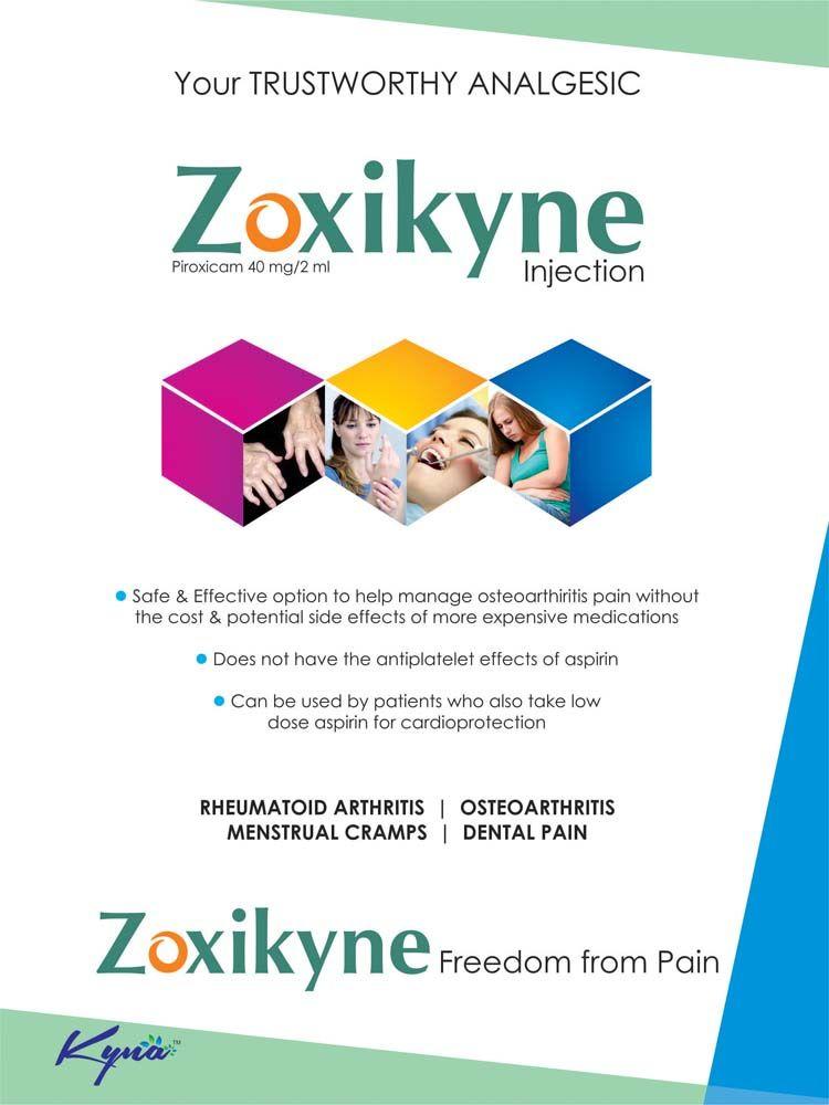 Your trustworthy Analgesic Zoxikyn Injections Pharma