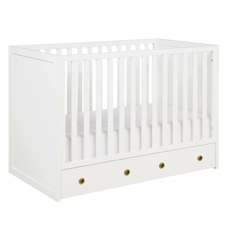 Rue 3 In 1 Convertible Crib With Storage In 2020 With Images