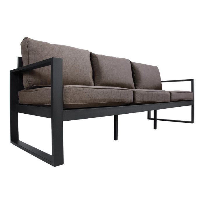 Thereu0027s Something So Retro Modern About This Sleek Outdoor Sofa. Its Low  And Wide