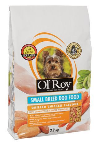 Ol Roy Ol Roy Small Breed Dog Food Grilled Chicken Flavour 3 2kg