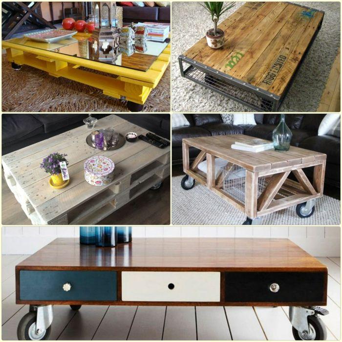 Damit Garagen: DIY Möbel: Wie Kann Man Einen Holztisch Selber Bauen