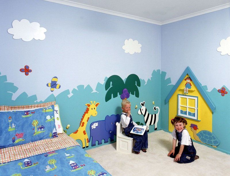 Best Baby Wallpainting Images On Pinterest Murals Babies