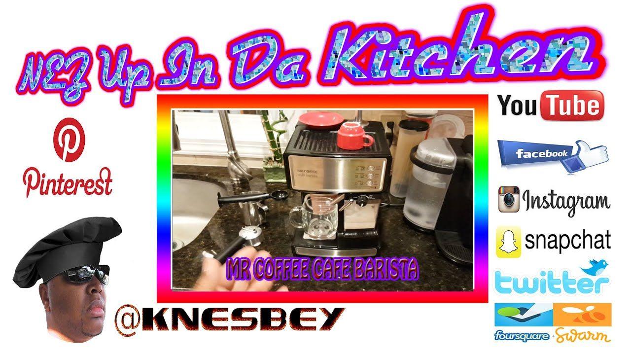 NUIDK MR COFFEE CAFE BARISTA Cafe barista, Mr coffee
