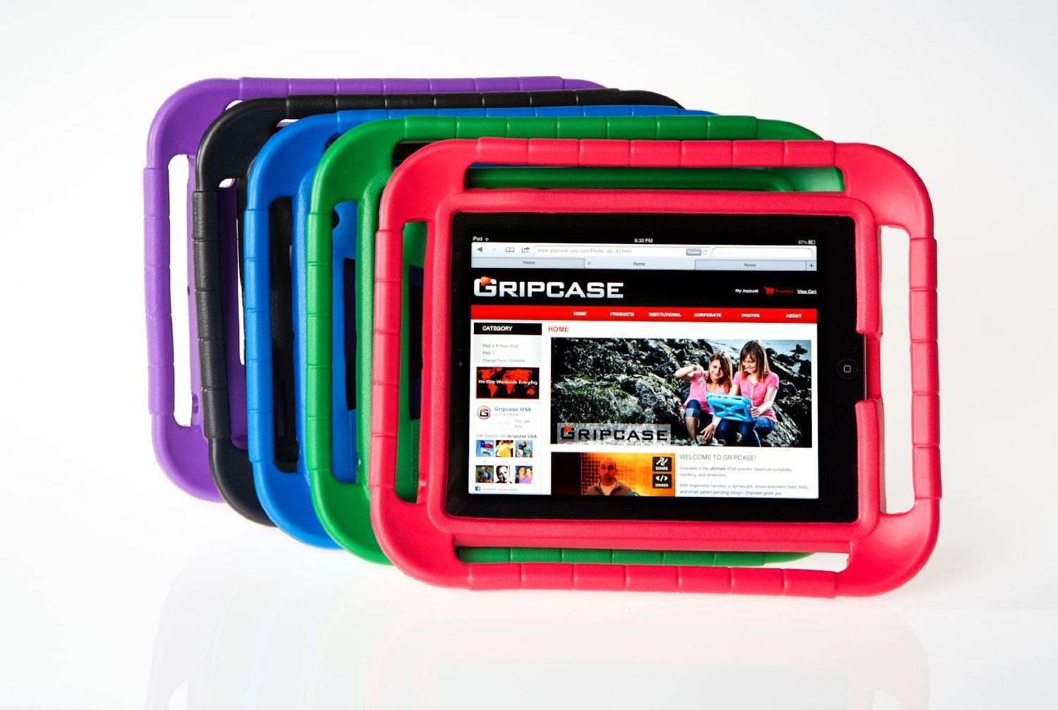 Gripcase For Ipad 2nd 3rd 4th Generation Kid Safe