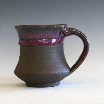 Tasse de café de petite poterie, 8 oz, tasse en céramique à la main, tasse à la main, tasse de poterie en grès céramique  #café #Céramique #grès #main #petite #poterie #tasse