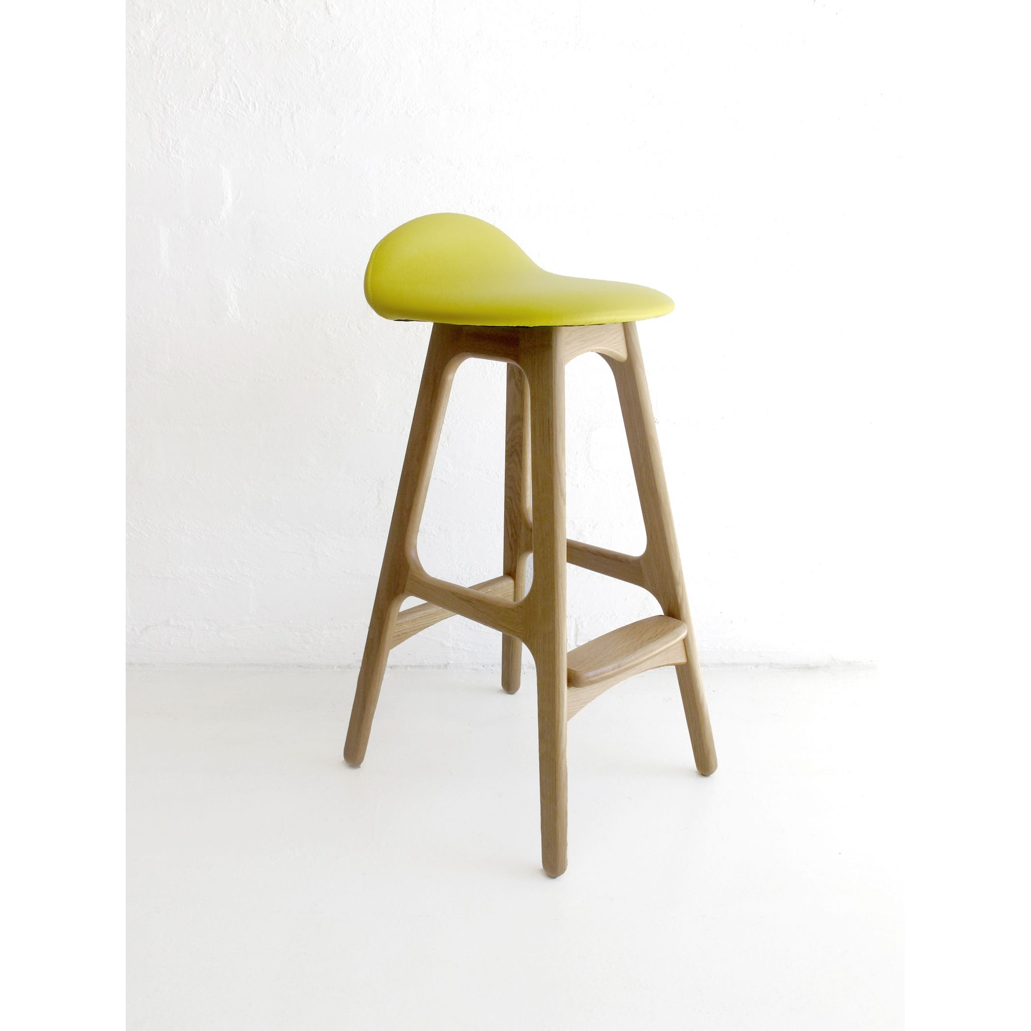 Another Eric Buch bar stool but this one in a lovely yellow and itu0027s an  sc 1 st  Pinterest & Another Eric Buch bar stool but this one in a lovely yellow and ... islam-shia.org