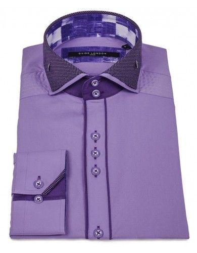Double Collar Dot Shirt · Camisas De VestirCamisas Para HombresUniformes De  TrabajoRopa ... 23cb28d75f9