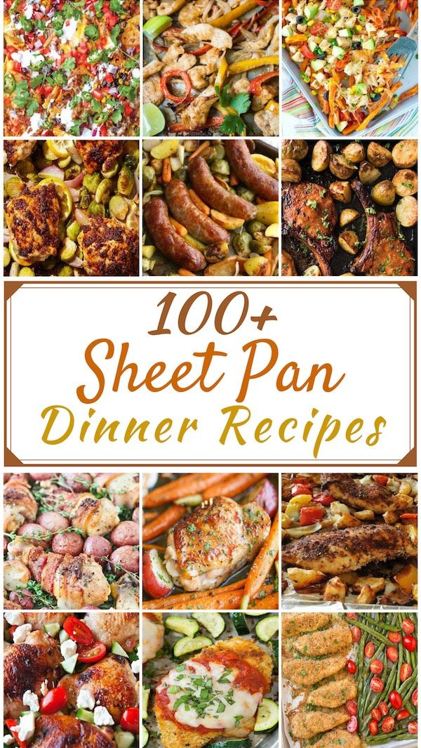 100 Best Sheet Pan Dinners images