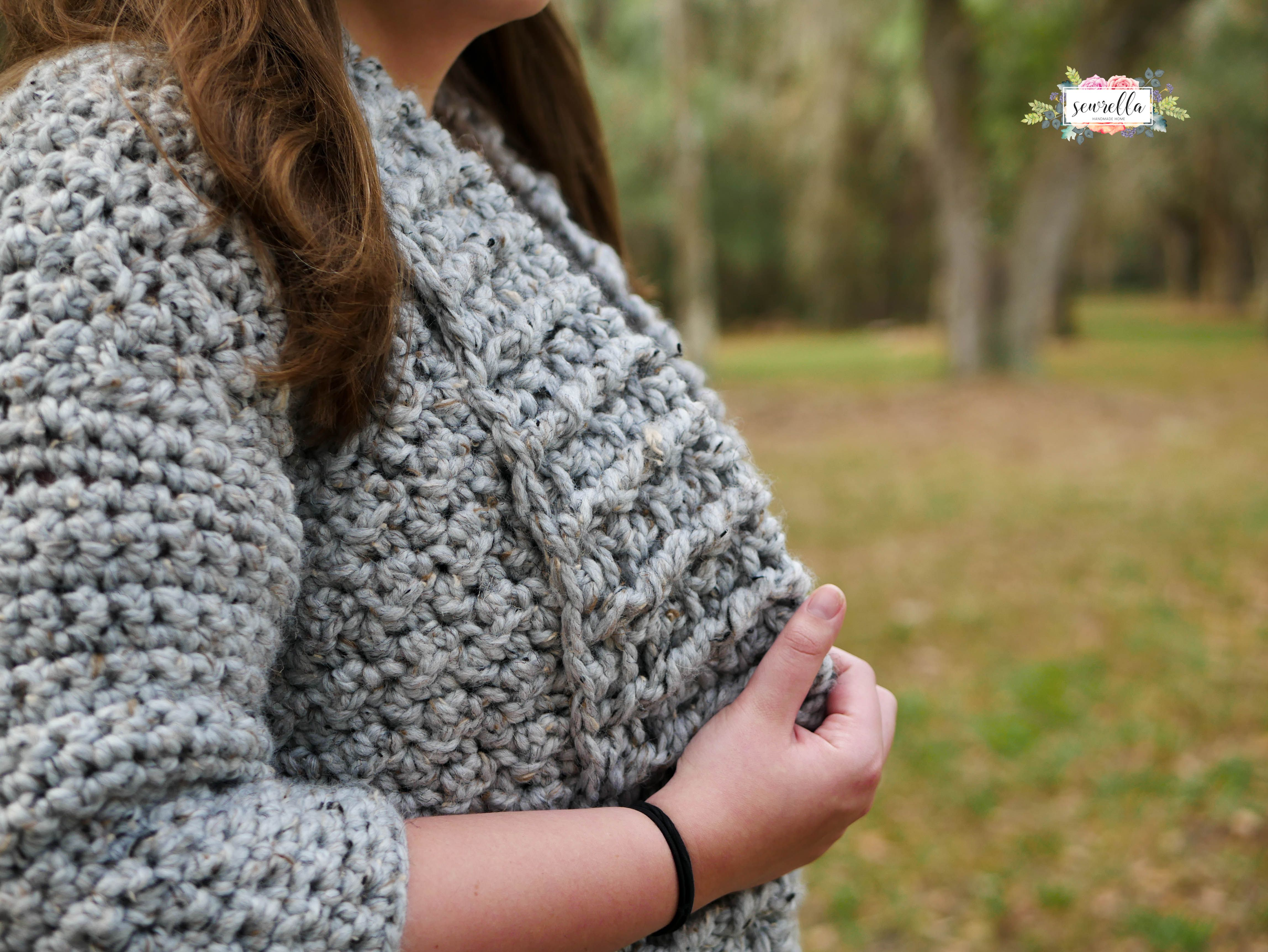 c21c4cce5 First Love Crochet Cardigan Pattern from Sewrella