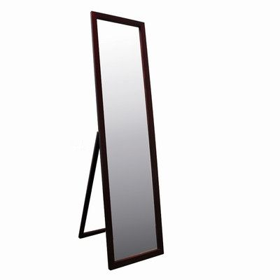 ORE Full Length Stand Mirror in Walnut | Wayfair