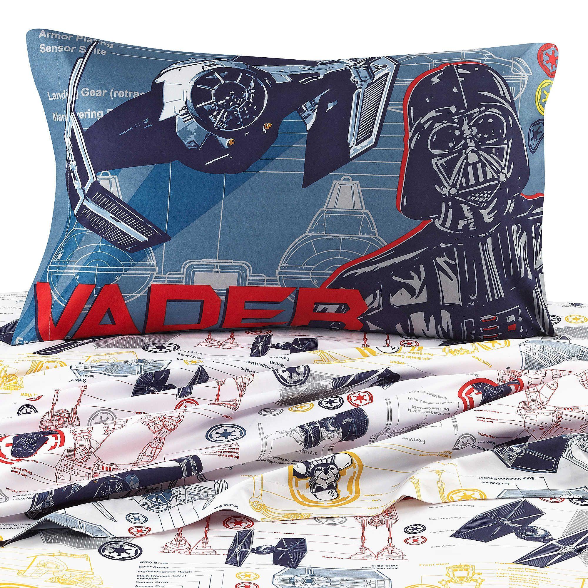 Disney Star Wars Characters Printed Sheet Set Boy Bedroom Ideas