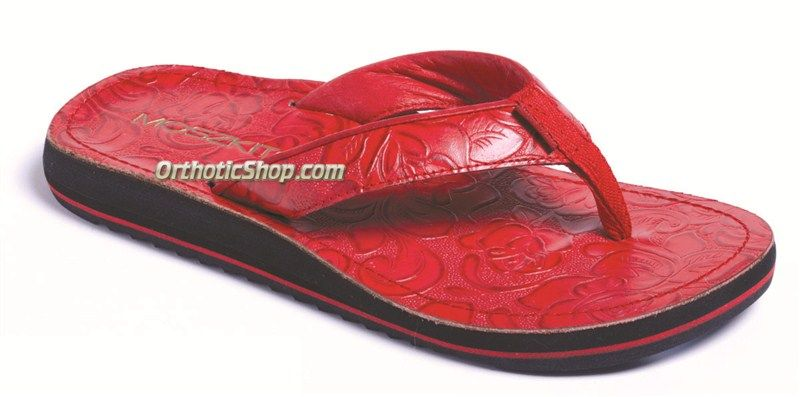 383ff9c078c0 Price   69.00 - Moszkito Archy Tooled Red Arch Support Sandals for Women  Free