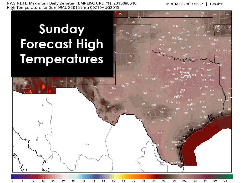 Significant Heat Wave With Dangerous Temperatures Through The Weekend Texas Storm Heatwave Texas Weather