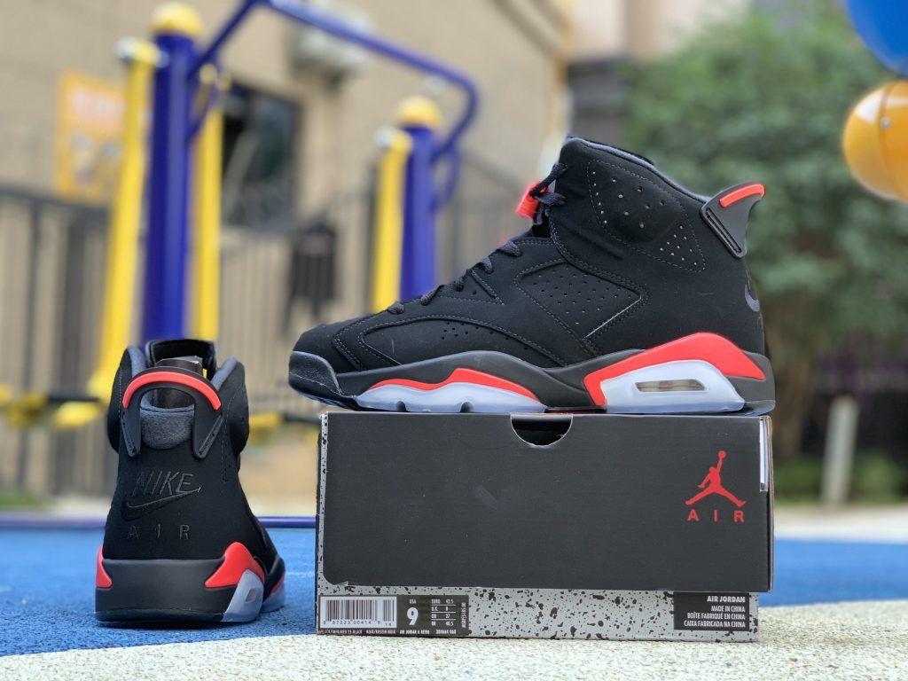 2019 New Release Air Jordan 6 Black Infrared 384664 060 Air Jordans Jordans Jordan 6
