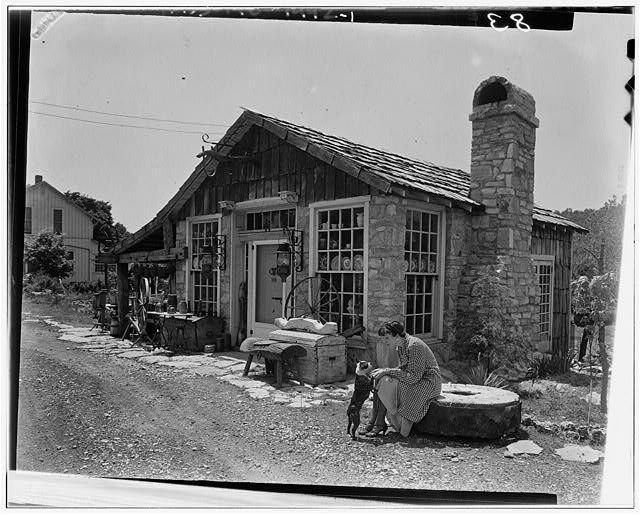 McQuire Antique Shop, U.S. Route 67, Barnhart vicinity, Jefferson, MO - 1933