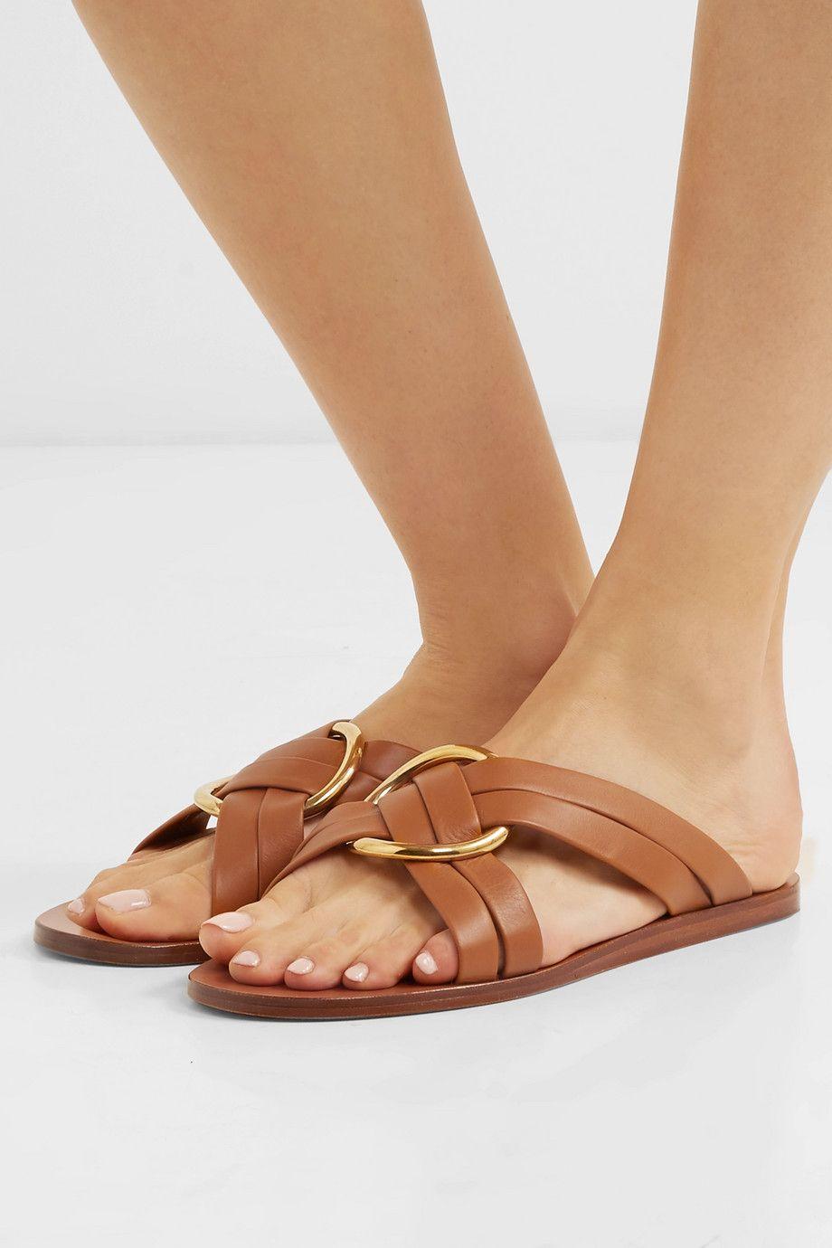 Chloé Rony flat sandals SnEw44o5