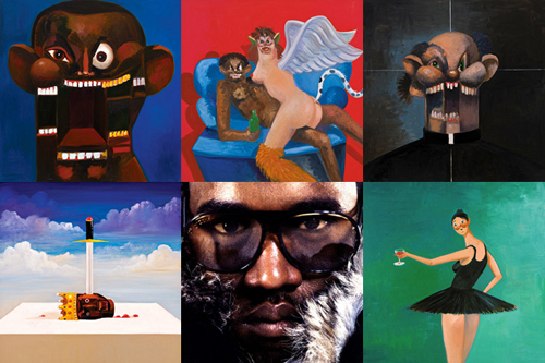 The New Originals George Condo Explains His Kanye West Album Covers In 2020 George Condo Kanye West Album Cover Kanye West Albums