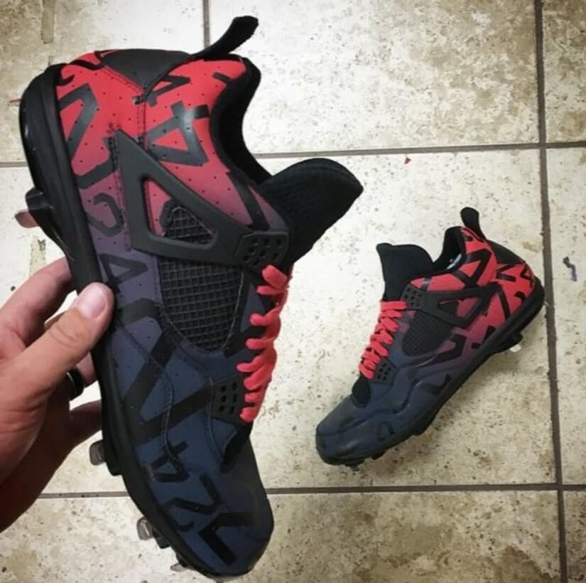 Can You Wear Baseball Cleats For Football Top 10 Custom Baseball Cleats Of 2016 So Far Baseball Cleats Custom Football Cleats Custom Baseball Cleats