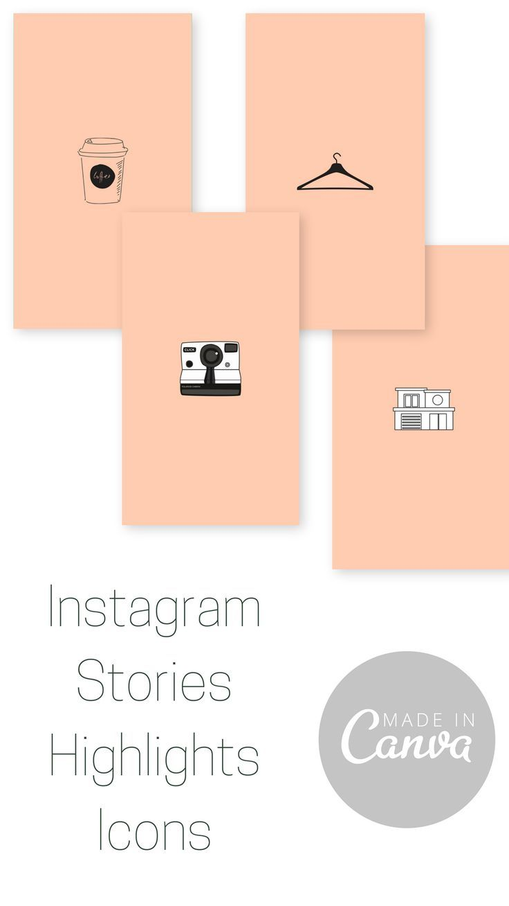 Instagram Story Highlight Icons Made In Canva Office Decor Pinterest Instagram Story Instagram And Story Highlights