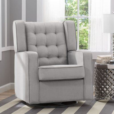 Delta Children Paris Glider Color: Dove Gray