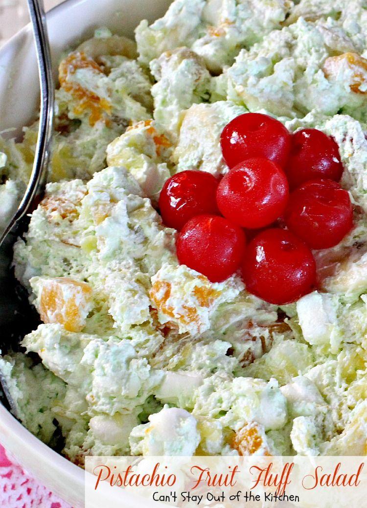 Pistachio Fruit Fluff Salad Recipe Fruit Salad Easy Dessert Recipes Cooking Recipes