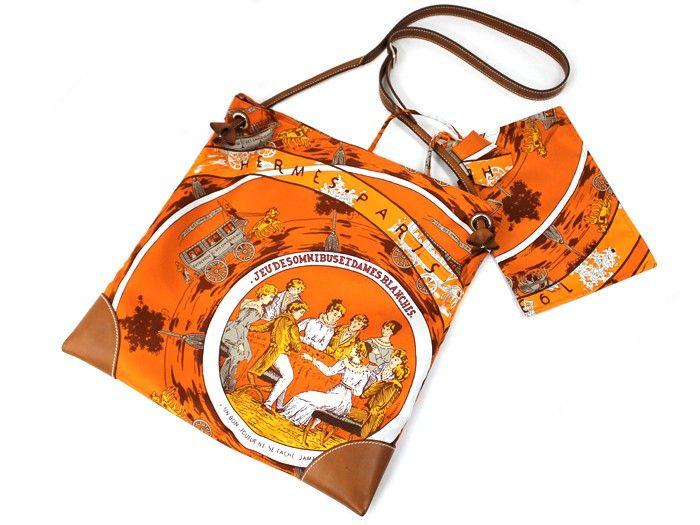 günstig Hermes Silky City Bag original billig gut preiswert