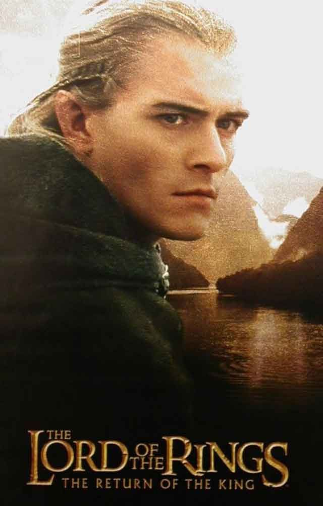 A HUGE poster of Legolas (Orlando Bloom) from Lord of the Rings: Return of the King! An original published in 2003. Ships Super Fast! 39x54 inches. Check out the rest of our amazing selection of Lord