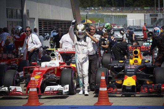 メルセデス:ハミルトンがポールポジション / F1オーストリアGP 予選  [F1 / Formula 1]