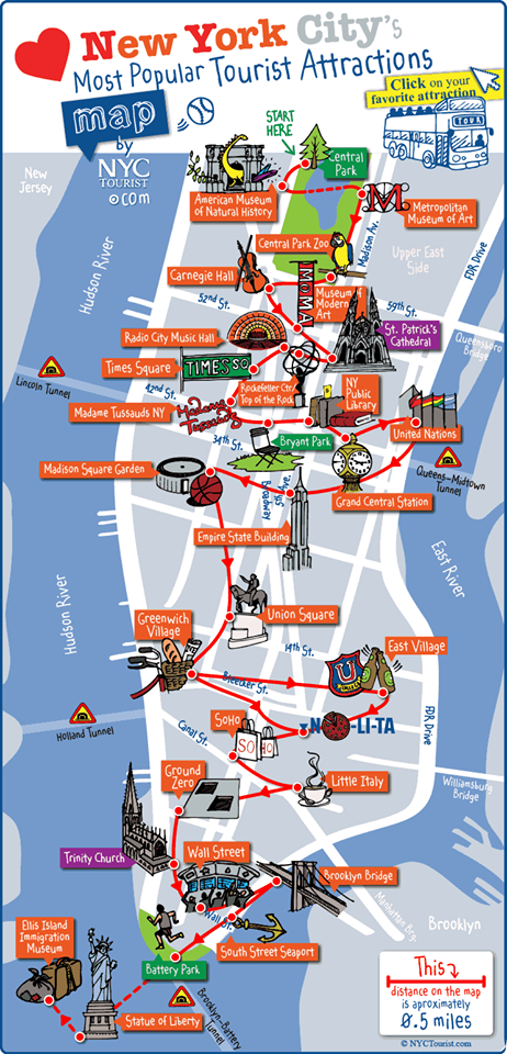 Tourist Map Of New York City Pdf.One Day Time For Travel Ideas Pinterest