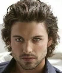 Mens Hairstyles For Square Face Shape 2019 Hair Beard Curly Hair