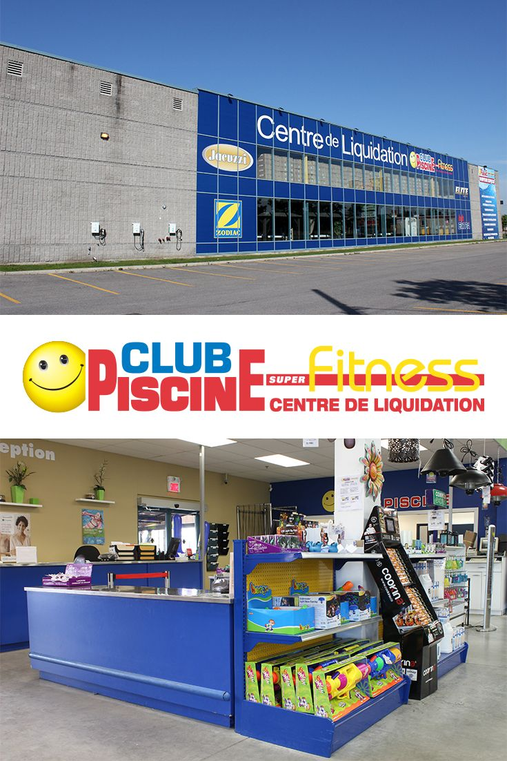 club piscine super fitness centre de liquidation laval