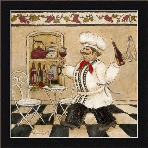 Top Chef Ii By Charlene Olson Italian Chef Kitchen Decor Framed Art Print Picture Wall Decor Ital Kitchen Decor Frames Wall Decor Pictures Chef Kitchen Decor