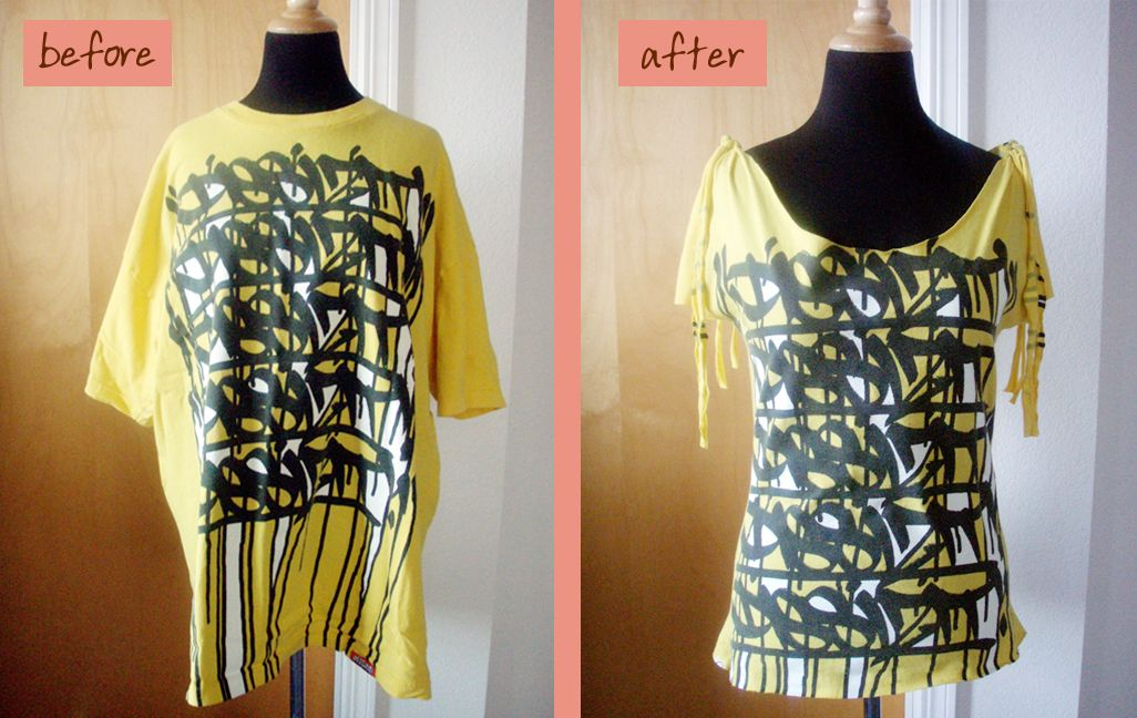 Reconstructed T-Shirt.