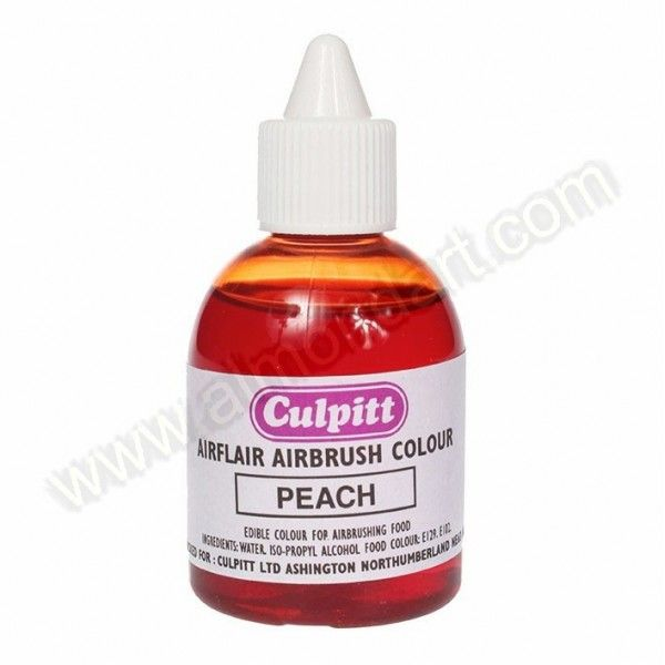 Peach/Flesh Airflair Edible Airbrush Colour - 60ml | New Products ...