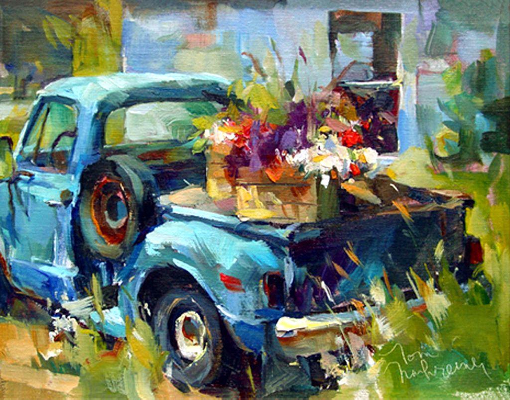 pick-up azul