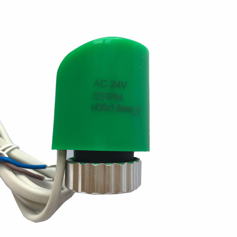 24 v nc normalement ferm thermique lectrique actionneur pour collecteur radiateur vanne de - Puissance radiateur electrique pour chambre ...