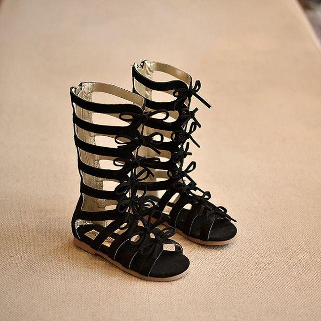 Online Shop children shoes Summer boots High-top fashion Roman girls  sandals kids gladiator sandals toddler baby sandals Brand high-quality  813cf6ac6445