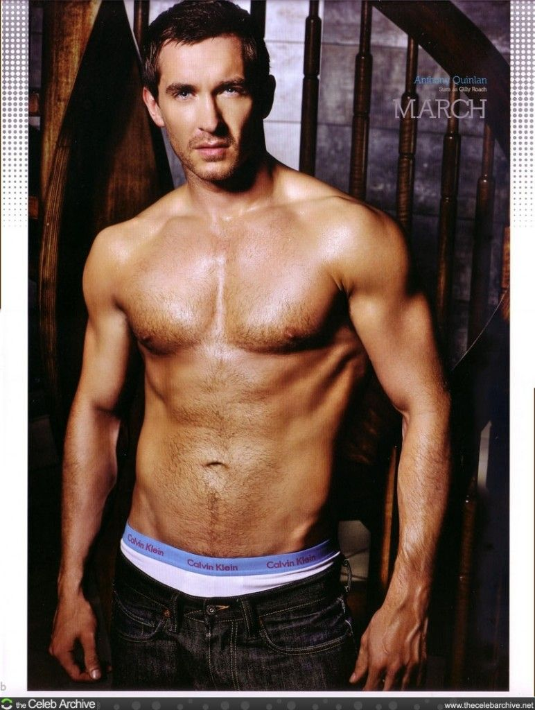 Anthony Quinlan, Hollyoaks Calender Shoot.