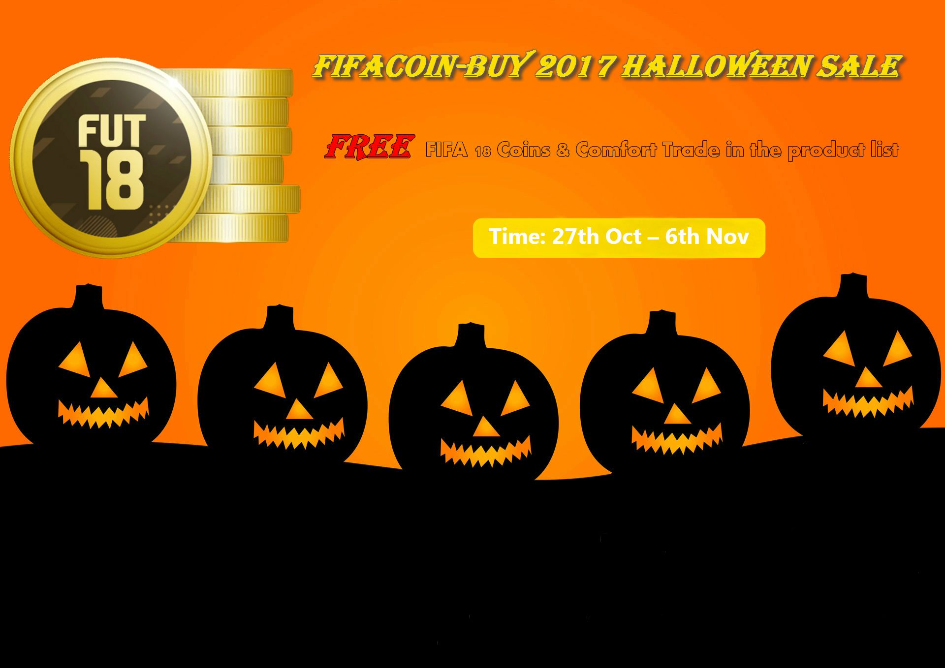 Scream Team Comes Alive Fifa 18 Coins Halloween Sale
