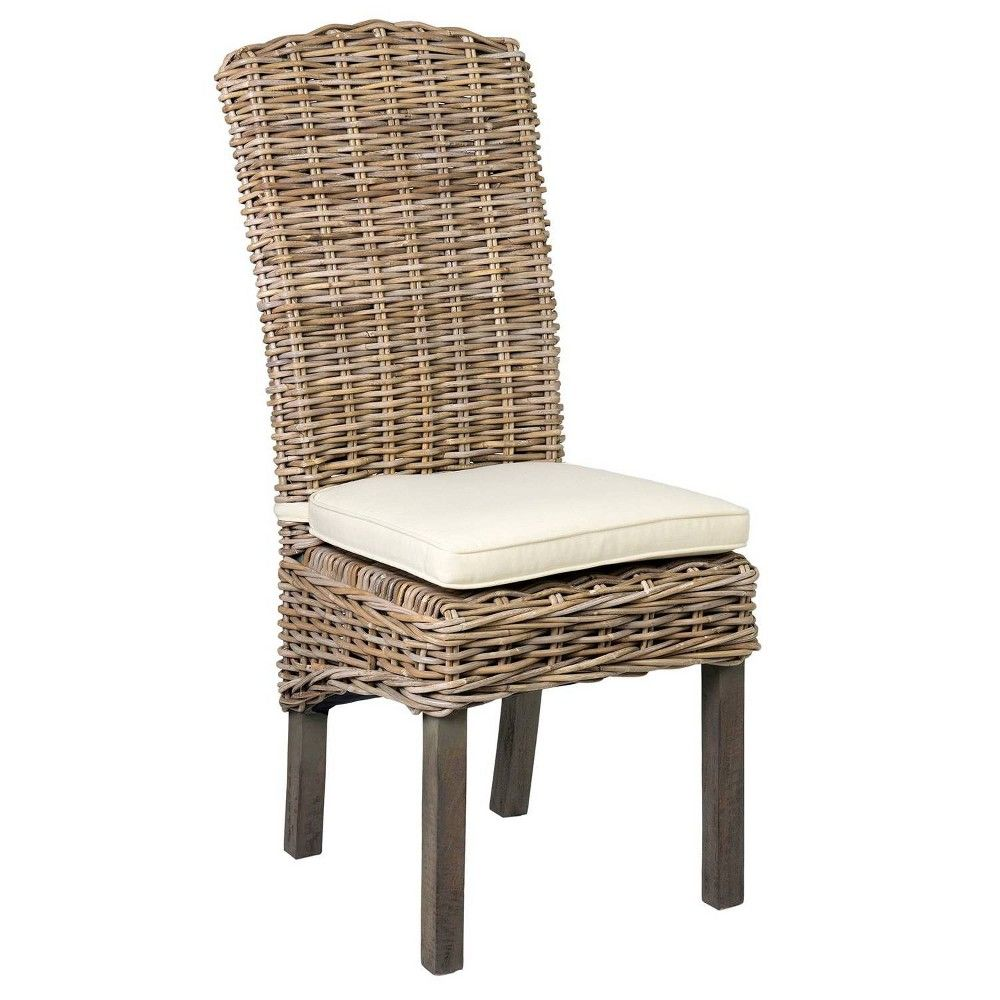 Summit Rattan Dining Chair Brown East At Main Rattan Dining Chairs Dining Chairs Upholstered Chairs