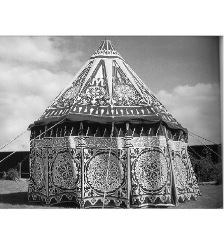 Tents Of The Islamic World 19th Century Cerermonial Egyptian Tent
