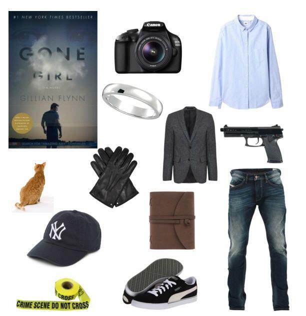 Literary Halloween costume suggestion from Random House - Gone Girl