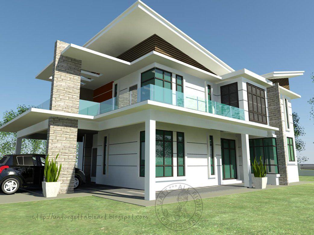 N Rumah Banglo Moden