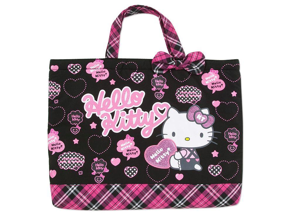 Hello Kitty School Kids Tote Bag Logo SANRIO